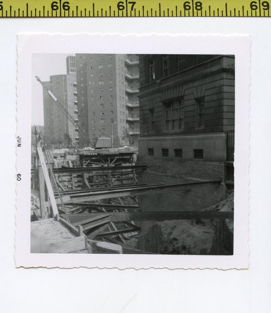 Details about Vintage 1960 photo / Mt  Sinai Hospital - Excavation Reveals  Martian Mass Grave